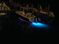 LF6s lighting up the back of a 24' Seahunt Edge! #Boating