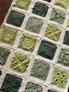 Crochet Square Patterns, Crochet Borders, Crochet Squares, Crochet Blanket Patterns, Crochet Designs, Crochet Stitches, Knitting Patterns, Crochet Afghans, Granny Squares