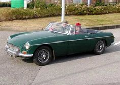 The MGB...Though I'm not a car person, this was a car I remember envying...