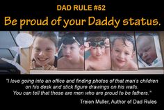 "Check out the new book ""Dad Rules"" by Treion Muller"
