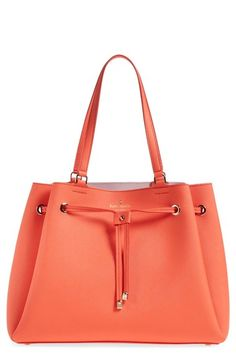 kate spade new york 'cape drive - lynnie' drawstring tote available at #Nordstrom