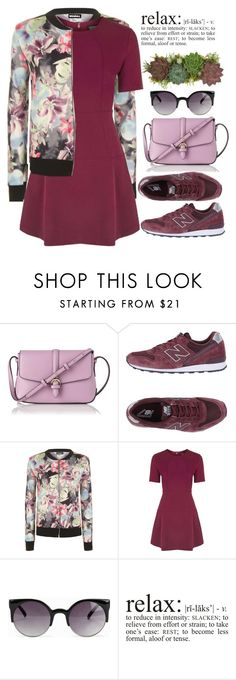 """""""Purple Dream"""" by bmaroso ❤ liked on Polyvore featuring L.K.Bennett, New Balance, WearAll, Topshop, NLY Accessories, Jayson Home, purple and sportystyle"""