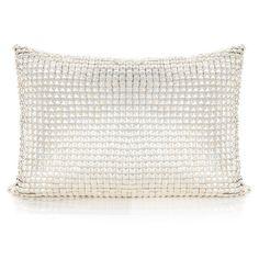 JILD, by Pyar&Co. Armor-like metal stud cushion.  Hand-crafted; Size 14x16