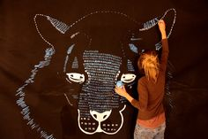 MURALS / LIVE PAINTING - littleisdrawing © Carla Fuentes