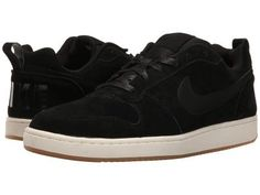 Nike - Recreation Low Prem (Black/Sail/Gum Light Brown/Black) Men's Basketball Shoes