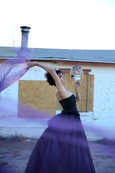 Purple Tulle