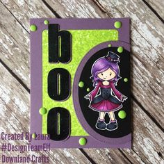 Handmade Card Making, Green Glitter, Halloween Cards, Elves, Greeting Cards, Stamp Card, Paper Crafts, Crafty, Cute