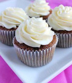 Cupcake Recipes : Carrot Cupcakes