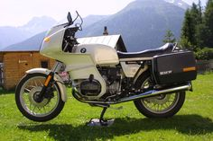 BMW R100RS my bike in the 80ies