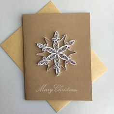 Items similar to Quilled Holiday Cards (set of on Etsy Quilling Christmas, Diy Christmas Cards, Holiday Cards, Christmas Holidays, Christmas Crafts, Xmas, Christmas Ornament, Paper Quilling Cards, Quilled Paper Art
