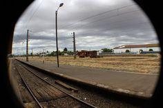 Anden Estación de Victoria. Chile. Febrero 2014
