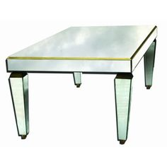 Venetian Gems Venetian Mirror Coffee Table