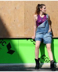 Easy wear salopette (L) | Mlle Frivole Salopette Jeans, Easy Wear, Overall Shorts, Overalls, Boutique, How To Wear, Women, Fashion, Suspenders