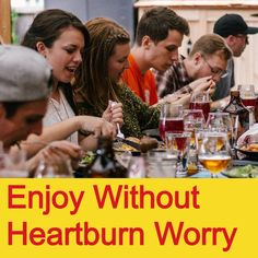 Gently tame heartburn from rich, spicy and acidic foods with garden cress flower seeds and zinc in convenient capsules Natural Remedies For Heartburn, Herbal Remedies, Stop Eating, Eating Well, Acid Indigestion, Late Night Food, Acidic Foods, How To Get Sleep, Natural Supplements