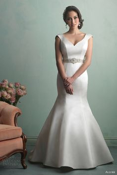Allure Bridals Fall 2014 Wedding Dresses   Wedding Inspirasi