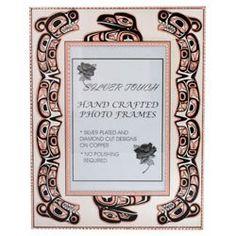 Native Raven Photo Frame