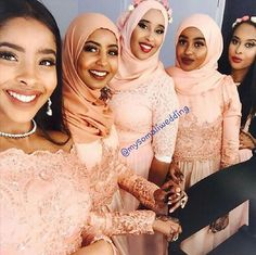 """""""Together, they all took bohemian beauty to a whole new level, with their dress styles varying slightly from girl to girl. Absolutely stunning! -…"""""""