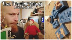 "An interview with Jamey Jorgensen about his recent stop motion thesis film ""Time Traveling Enigma."""