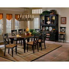 The Elegant Rectangular Wood Northern Heights Table Is Graced With  Sophisticated French Inspired Carved Legs.