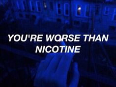 nicotine - panic! at the disco