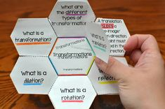Transformations (Translations, Reflections, Rotations, and Dilations) by Common…