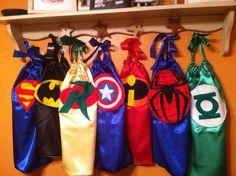 Super Hero Capes- gift idea for little man