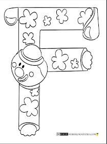 Escuela infantil castillo de Blanca: ABECEDARIO COLOREAR Spring Coloring Pages, Tree Coloring Page, Letter F, Letter A Crafts, Preschool Letters, Preschool Activities, Coloring Letters, Finger Plays, Step Kids
