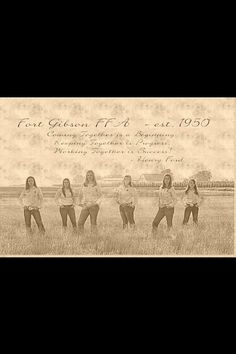 FFA love this.... senior photo idea for me and the other senior ffa members graduating.