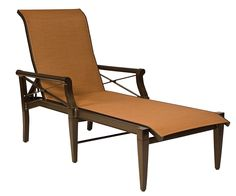 Andover Sling Adjustable Chaise Lounge