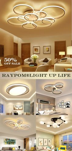 Design ceiling lights suitable for all occasions such as living room, bedroom, dining room, etc.We stand for helping you to create your comfortable and beautiful home, with our high quality,stylish and eligant lights. Recessed Ceiling Lights, Home, Ceiling Lights, Home Look, Ceiling, Beautiful Homes, Ceiling Lights Diy, Lights, Diy Lighting