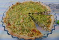 Brokkolis-csirkés pite Quiche, Breakfast, Food, Morning Coffee, Essen, Quiches, Meals, Yemek, Eten