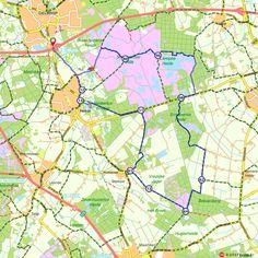 Fietsroute: Geldrop, Heeze over Strabrechtse Heide (http://www.route.nl/fietsroutes/116317/Geldrop-Heeze-over-Strabrechtse-Heide/)