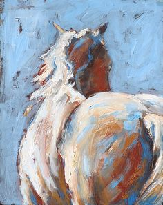 Away Horse Print by Eve Werner. All prints are professionally printed, packaged, and shipped within 3 - 4 business days. Choose from multiple sizes and hundreds of frame and mat options.