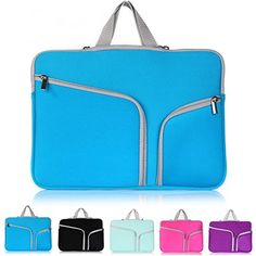 Boriyuan Fabric Case Cover Briefcase Carrying Bag Pouch Sleeve with Zipper and Handle for All 13-13.3 inch Laptop / Notebook Computer / Macbook Pro / Macbook / Macbook Unibody / Macbook Air with Pockets and Compartments for Smaller Accessories (13.3inch Blue) Boriyuan http://www.amazon.com/dp/B00QIC2NPE/ref=cm_sw_r_pi_dp_ilvVub0H6EQQJ