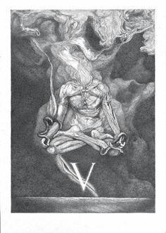 Artem Grigoryev Dark Style, Drawing Sketches, Drawings, Horror Art, Types Of Art, Occult, Dark Art, Watercolor Paper, Mystic