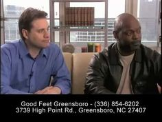 \n        Good Feet Greensboro - Plantar Fasciitis - Foot Pain, Back Pain, Heel Pain, Plantar Fasciitis Relief\n      - YouTube\n
