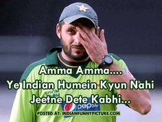 India vs Pakistan Funny Cricket World Cup Match Pictures #Pakistan #WorldCup2015