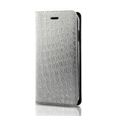 i-phone 6・6S用 ヌメクロコNCS-6/シルバー
