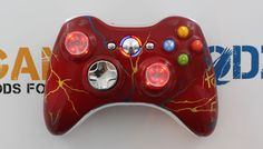 GamingModz.com can make virtually ANY designed controller you would like!!! Our professional team has the tools, knowledge and technology to make dreams come true bringing fiction into reality. If you are looking for something special and unique, please email designs@gamingmodz.com with your request to receive a quote on a custom designed Xbox or PS3 Controller.