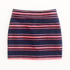 spring skirt in navy and rose #DGLove