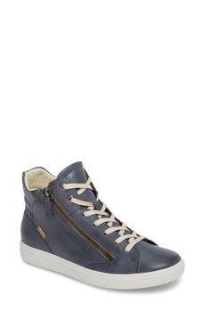 7d3f3afd ECCO - Soft 7 High Top Sneaker (Women) Nordstrom Rack, High Top Sneakers