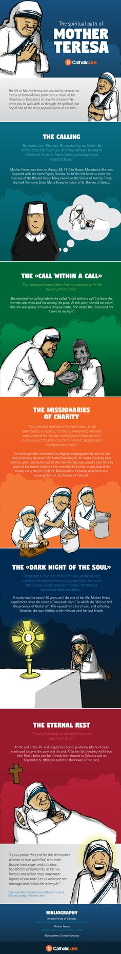 (Infographic) The Life and Holiness of Mother Teresa Illustrated!