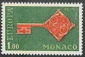 Monaco - Europa / CEPT 1968