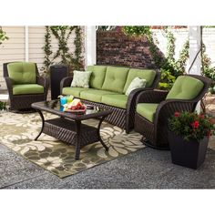 Buywhiz.com - Sunbrella 4pc Outdoor Patio All-Weather Wicker Deep Seating Set in Turf Green, $1,549.95 (http://www.buywhiz.com/sunbrella-4pc-outdoor-patio-all-weather-wicker-deep-seating-set-in-turf-green/)