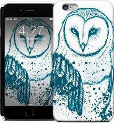 Owl Tee iPhone Cases & Skins by Aleksandra Kurczewska | Nuvango