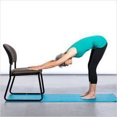 ACE Fit | Fit Life | 7 Chair Yoga Poses for Better Balance #ChairWorkout