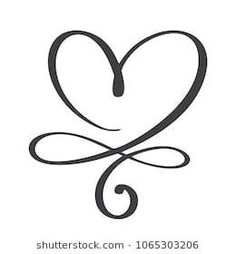 Heart Love Sign Forever Infinity Romantic Stock Vector (Royalty Free) 1061242346 - Heart Love Sign Forever Infinity Romantic Stock Vector … You are in the right place about healt id - Infinity Tattoos, Wrist Tattoos, Mini Tattoos, Body Art Tattoos, Small Tattoos, Tatoos, Infinity Tattoo With Names, Heart Foot Tattoos, Infinity Signs
