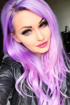 Amazing Violet Hair picture2