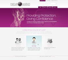 August 2011: Nerve Watch web design by Hitron