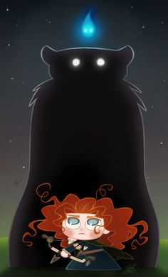 Chibie Merida in Pixar's Brave by *princekido on deviantART